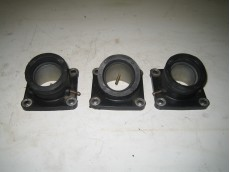 honda ns400r carb rubber manifolds x 3 (exchange only)